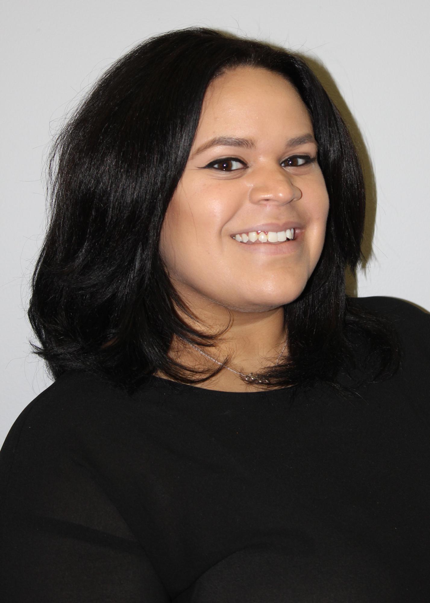 Mitzi Tejada, receptionist